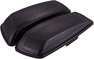 Us Stock Unpainted Dual 6 x 9 inch Saddlebag Speaker Lids Fit for Harley Road Glide 2014+ Hard Saddlebags/Advanblack Stretched Bags
