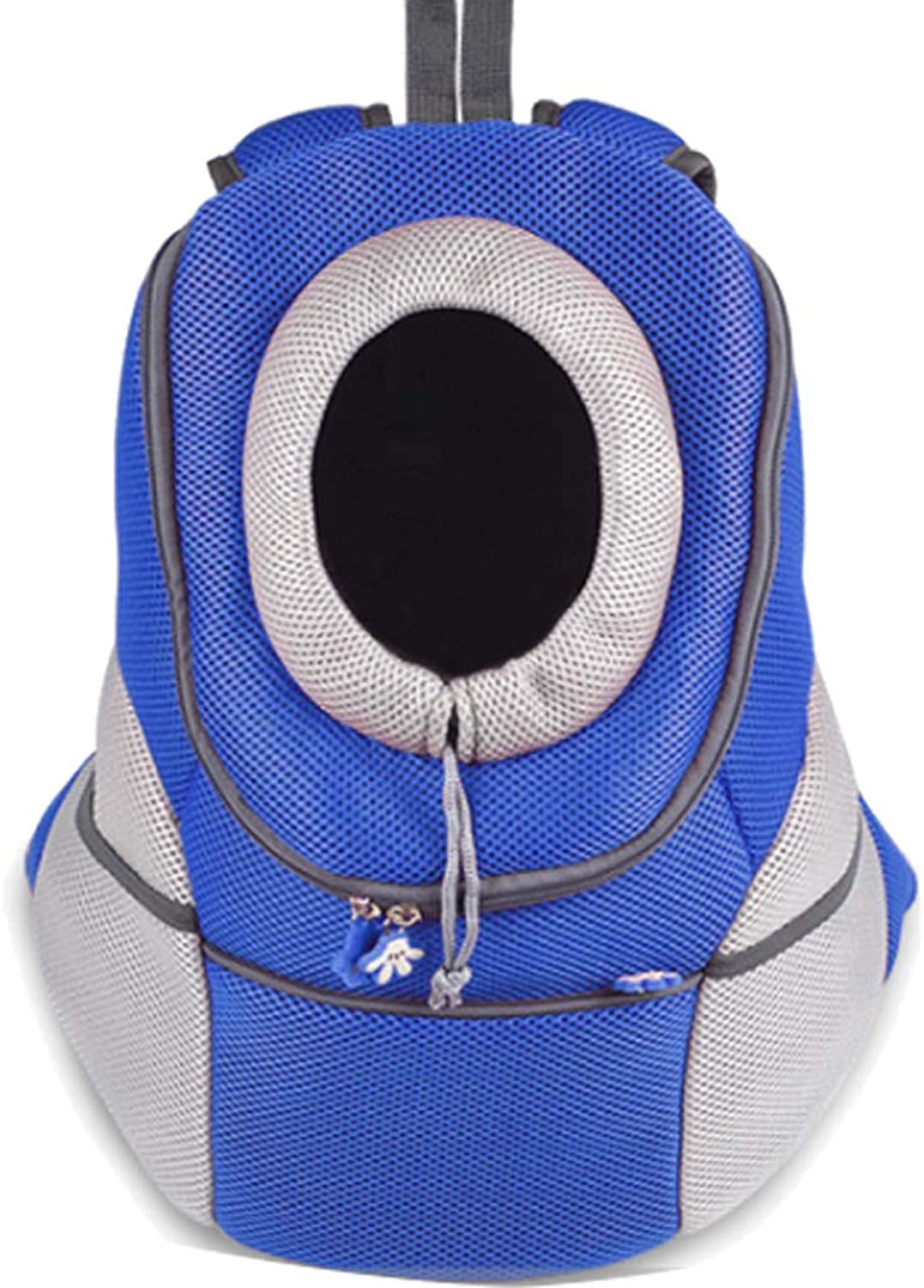 Comfortable Dog Cat Carrier Backpack,Puppy Pet Front Bag with Breathable Head Out Design and Safety Design for Small Cat,Dogs