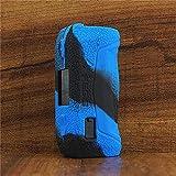 ModShield for Geekvape Aegis Solo 100W TC Silicone Case ByJojo Geek Vape Protective Cover Shield Skin Sleeve Wrap (Blue/Black)