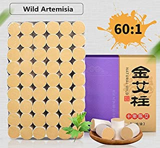 Smokeless moxa Purifier 54 Rolls Sticks Pure Moxibustion Moxa 10-Years Purity 60:1 Ratio