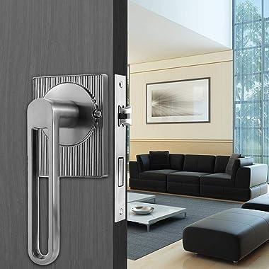 Safety Door Lock Door Lock Zinc Alloy Lock Quick Installation Child Safety Lock Anti?Theft for Office for Home