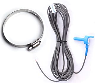"""Optimum Pool Technologies 7790 Water/Air/Solar Temperature Sensor Replacement for Jandy - Replaces 7790 - Includes 2"""" Pipe Clamp"""
