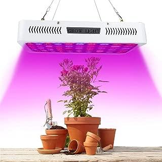 1200W LED Grow Light, 120 LED Plant Grow Lamp, Panel Light for Indoor Plants Seedling Vegetable and Flower(US)