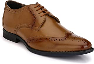 LEVANSE Leather Formal Brogue Shoes for Men/Boys