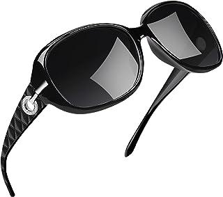Óculos de Sol Feminino Polarizados Joopin Armação Grande óculos Escuros para Mulheres Vintage Senhoras Tons