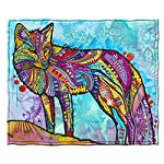 Dawhud Direct Fleece Throw Blanket by Dean Russo