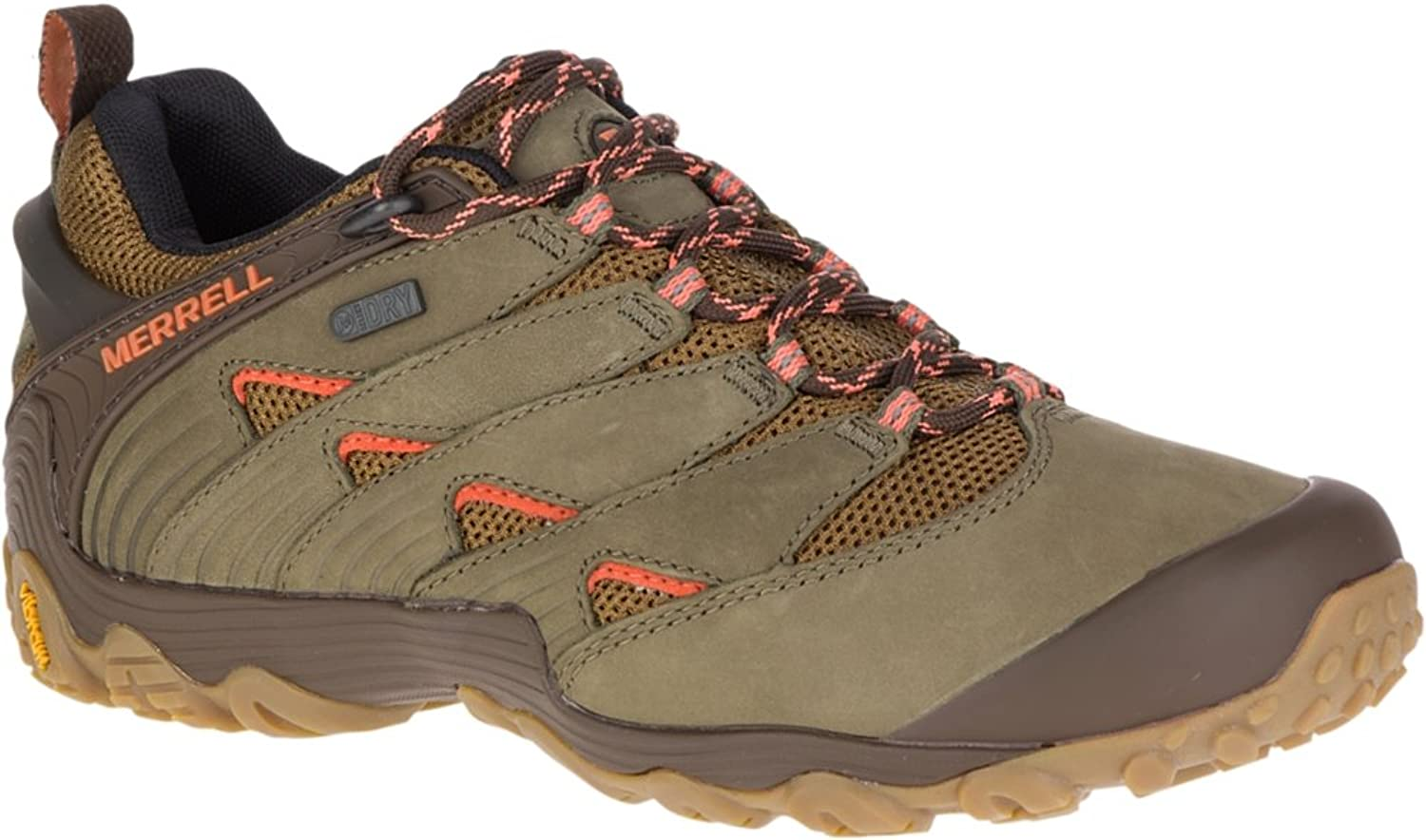 Merrell Wouomo Chameleon 7 Waterproof Hire sautope, Dusty Olive, 09.0 M US