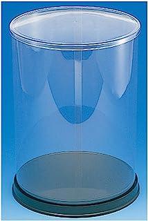 ヘイコー コレクションケース 展示用 ウインナーケース 丸 Φ18x24cm 1個入