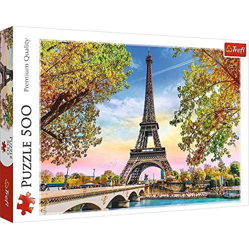 Brandsseller Puzle - Puzzle (500 piezas), diseño de la Torre Eiffel