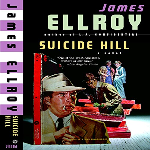 Suicide Hill audiobook cover art