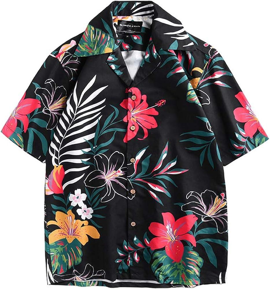 BaronHong Camisa de Vacaciones de Secado rápido de ...