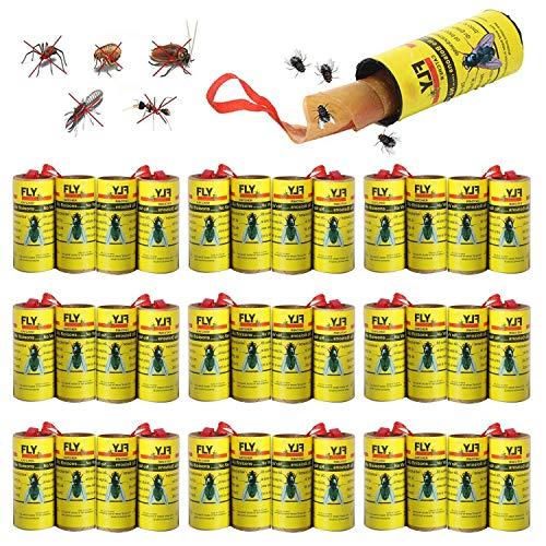 BESTZY Mosca Atrapasueños Ruedas 32PCS Trampa Atrapamoscas para Moscas Trampa Moscas Atrapa Mosquitera Fly Control Trap para Mosquitos - Interiores o Exteriores
