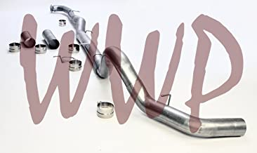 Coil /& Leaf Spring Fit Both Models Stainless Steel 4 DownPipe Down Pipe Back Performance Race Exhaust System Kit For 13-18 Dodge Ram 2500 3500 Cummins /& Dually 6.7L Turbo Diesel Truck