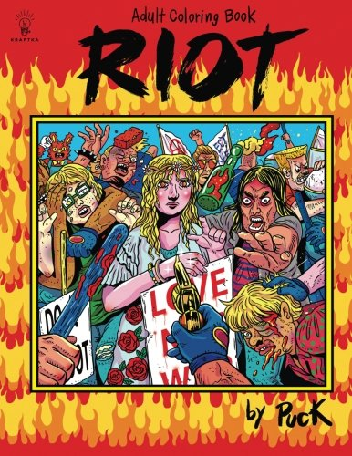 Riot Coloring Book
