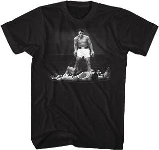 Muhammad Ali Men's Ali Over Liston T-Shirt Black