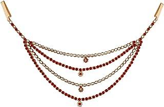 I Jewels Traditional Gold Plated Kundan & Stone Studded Kamarband/Kandora for Women B010