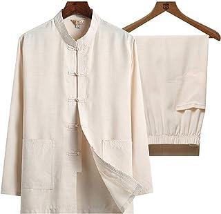 Tai Chi odzież tkanina bawełna len sztuki walki odzież na co dzień poranek ćwiczenia na zewnątrz joga dom odzież kostium t...