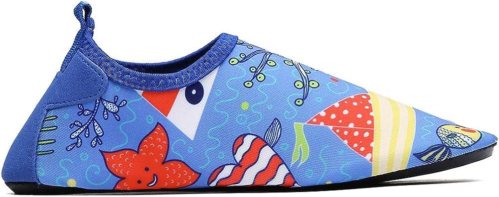 Child Outdoor Sports Barefoot Aqua Socks Slippers for Yoga Run Swim