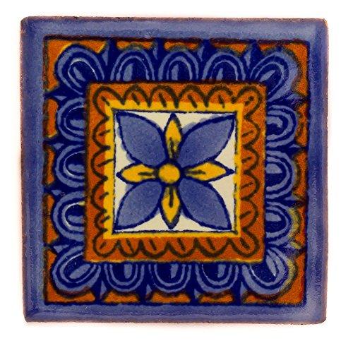 Mexikanischen handgemachten Talavera, 5cm Fliesen - Einzelfliese