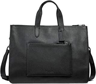 Leather Metropolitan Soft Briefcase Messenger Tote Bag - #32249