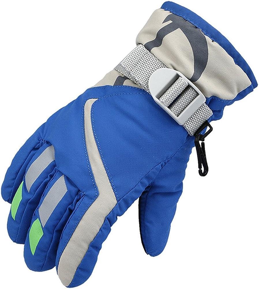 Kids Winter Ski Gloves Mitten Warm Max 78% OFF Ou Snow Max 80% OFF for Waterproof