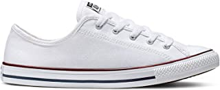 Converse Chuck Taylor All Star Dainty Womens White/Red Ox Trainers