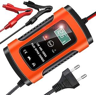 YDBAO Chargeur de Batterie Intelligent 6A 12V pour Voiture Moto Mainteneur Chargeur Batterie Automatique Fonction de Répar...