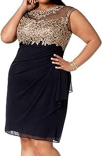 Women's Dress Petite Sheath Lace Embellished