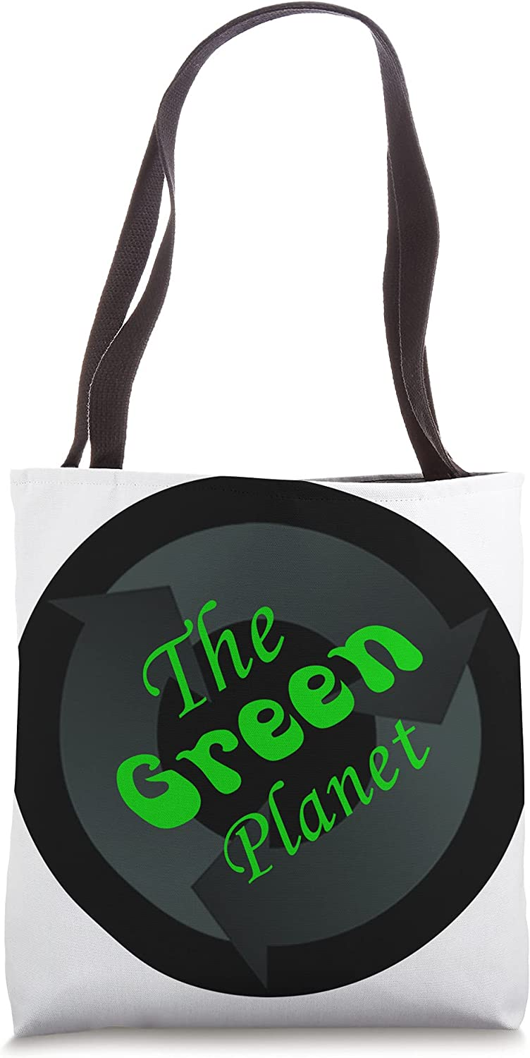 The Green Planet Band Tote Bag