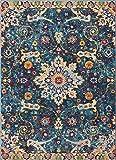 Well Woven Celestial Boho Medaillon Bereich Teppich Gelb
