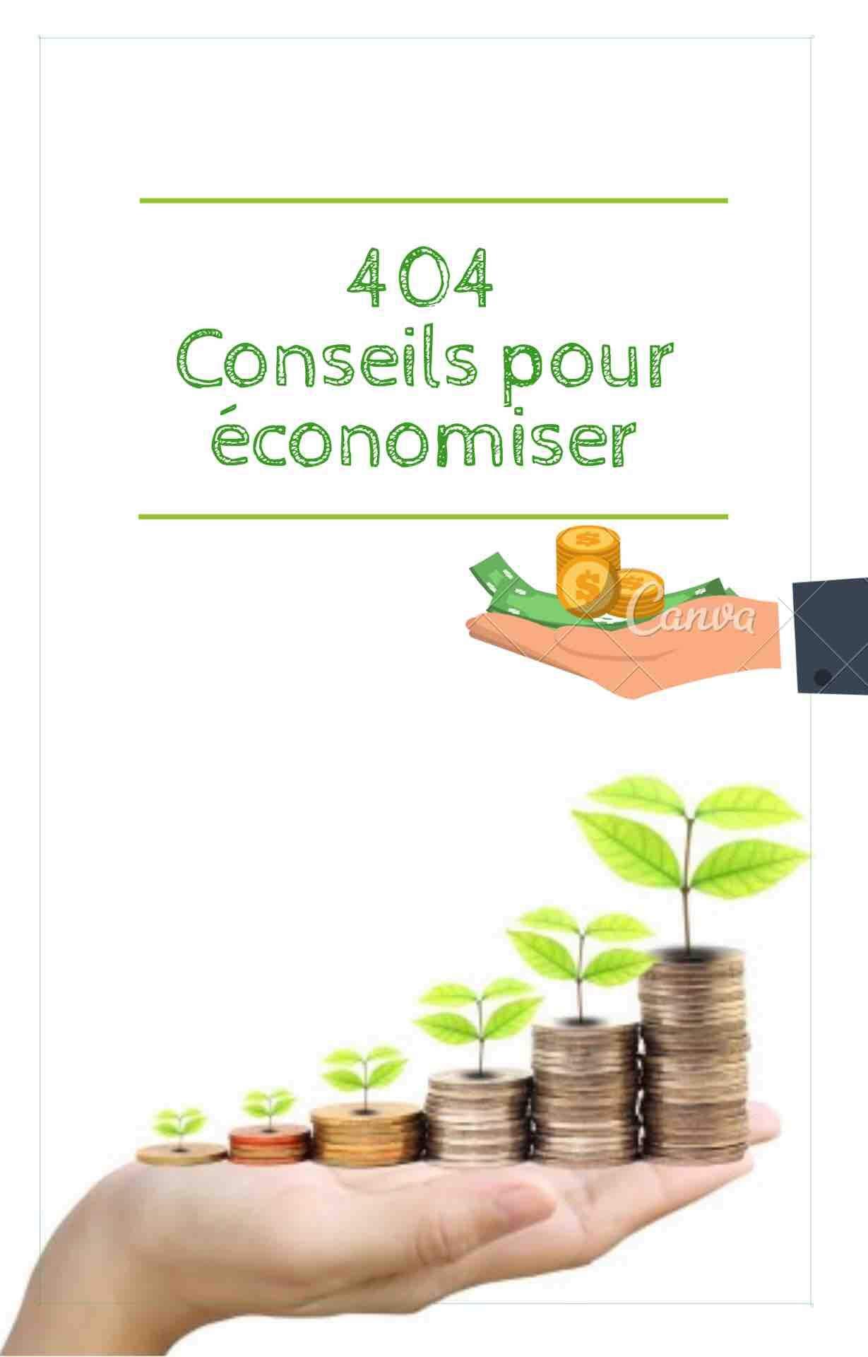 404 conseils d'économiser : Améliorer , changer sa vie (French Edition)