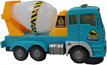 Charnalia Concrete Mixer Truck Heavy Duty Falsh Electric Technology Function, Rotating, Flash and Music Assorted Design an...