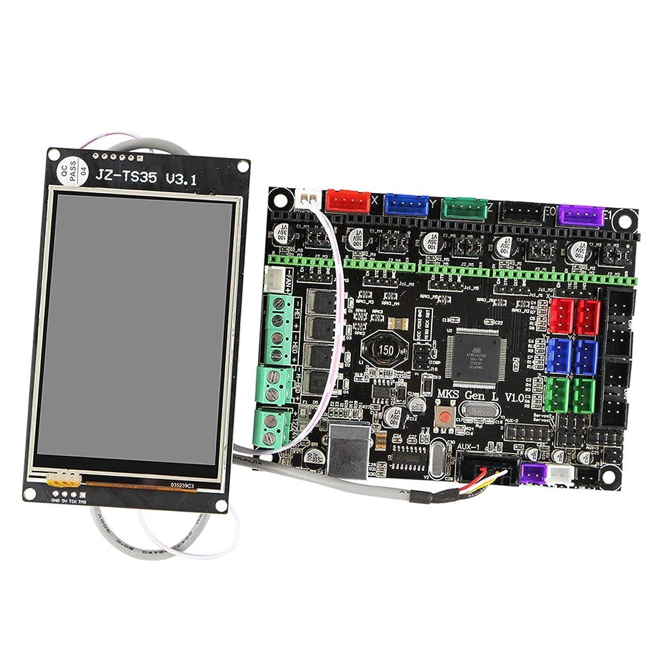 翻訳する直径救援H HILABEE 3Dプリンタ部品 MKS Gen L V1.0制御ボード& フルカラーディスプレイ Marlinファームウェア用