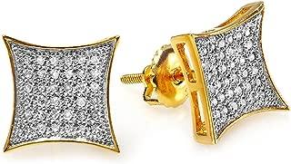real gold earrings for men