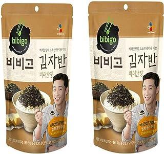 CJ Bibigo, Seaweed Butter Soy Sauce Flavored Korean Premium Laver Snack, Korean Premium Furikake Stir Fried Seaweed, Butte...