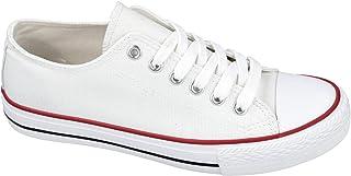 L&R Shoes DF2005 Chaussures en toile pour femme