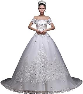 bd86dad02f4b Amazon.com: Off the Shoulder - Wedding Dresses / Dresses: Clothing ...