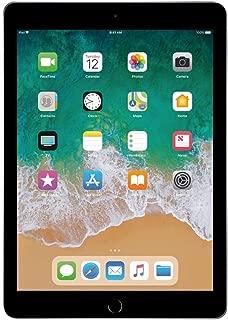 Apple iPad 9.7in 6th Generation WiFi + Cellular (32GB, Space Gray) (Renewed)