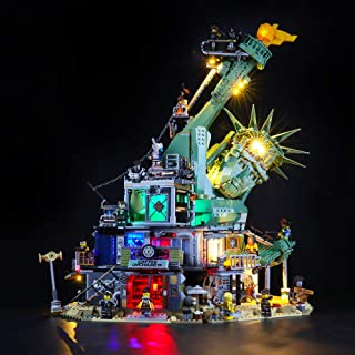 LIGHTAILING Light Set for (Lego Movie 2 Welcome to Apocalypseburg) Building Blocks Model - Led Light kit Compatible with L...