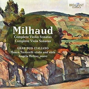 Milhaud: Complete Violin and Viola Sonatas