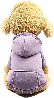 BaZhaHei Ropa Perro Pequeño Invierno Franela Sudadera con Capucha Colorido de Arcoiris Lunar Abrigo Jersey para Mascota Chihuahua Yorkshire Cachorro Ropa para mascotas perro gato lindo colorido abrigo