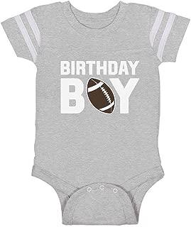 Tstars Gift for The Birthday Boy Football Baby Boy Birthday Baby Jersey Bodysuit