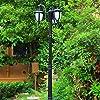 家具の装飾ヨーロッパのヴィンテージ防水ポストライト高極ランプ伝統的なビクトリアレトロ屋外ガーデン芝生ランプ3ヘッド装飾風景私道通路通路コラム照明