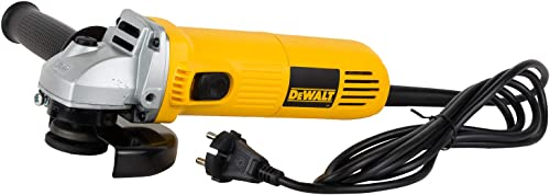 DEWALT DWE4115 950 Watt 125mm Heavy Duty Medium Angle Grinder (5in)
