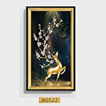 Hanging Painting Decorative Painting Murals Living Room Hallway Hallway Vertical Version Of Lucky Feng Shui Elk Paintings ...