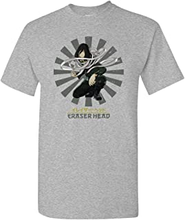Shota Aizawa Eraser Head Vintage Art My Hero Academia Men/Women/Unisex T-Shirt
