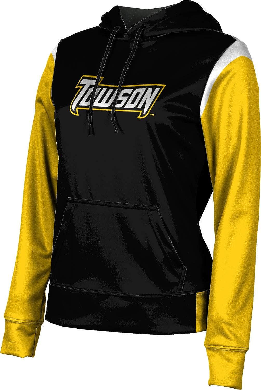 ProSphere Towson University Girls' Pullover Hoodie, School Spirit Sweatshirt (Tailgate)