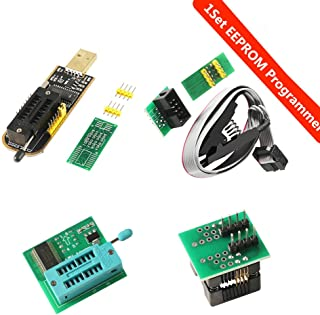 Organizer SOIC8 SOP8 Test Clip For EEPROM 93CXX / 25CXX / 24CXX + CH341A 24 25 Series EEPROM Flash BIOS USB +1.8V Adapter + Soic8 Adapter Programmer Module Kit (1 sets)