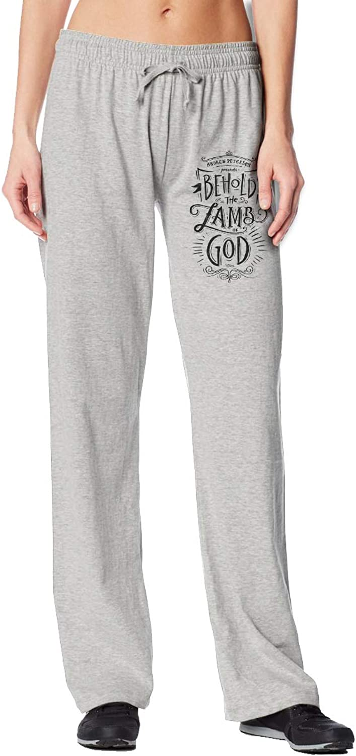Meamyezz Women's Lamb of God Jogger Sport Pants with Pockets