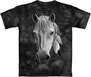 Horse Tie-Dye Adult Tee Shirt